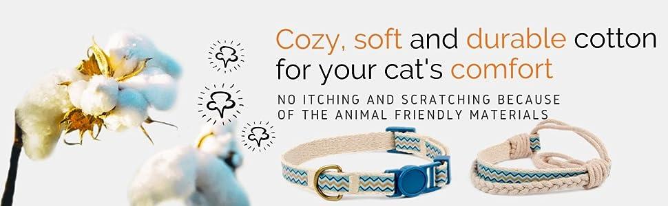 cozy soft durable cotton comfort material cotton matching friendship bracelet gift package cute