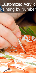Photo to Custom DIY Paint by Numbers for Adults