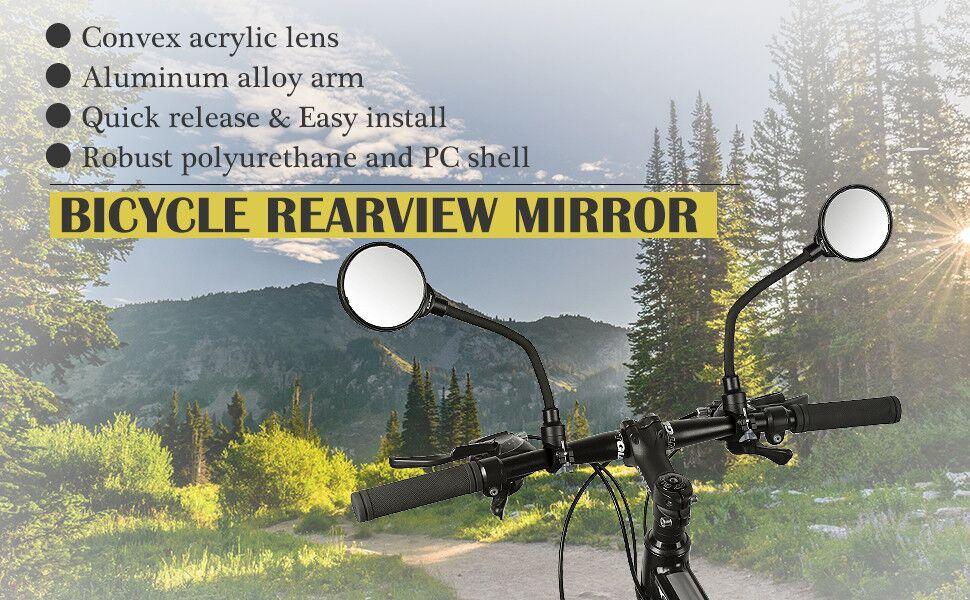 bike mirror quick release