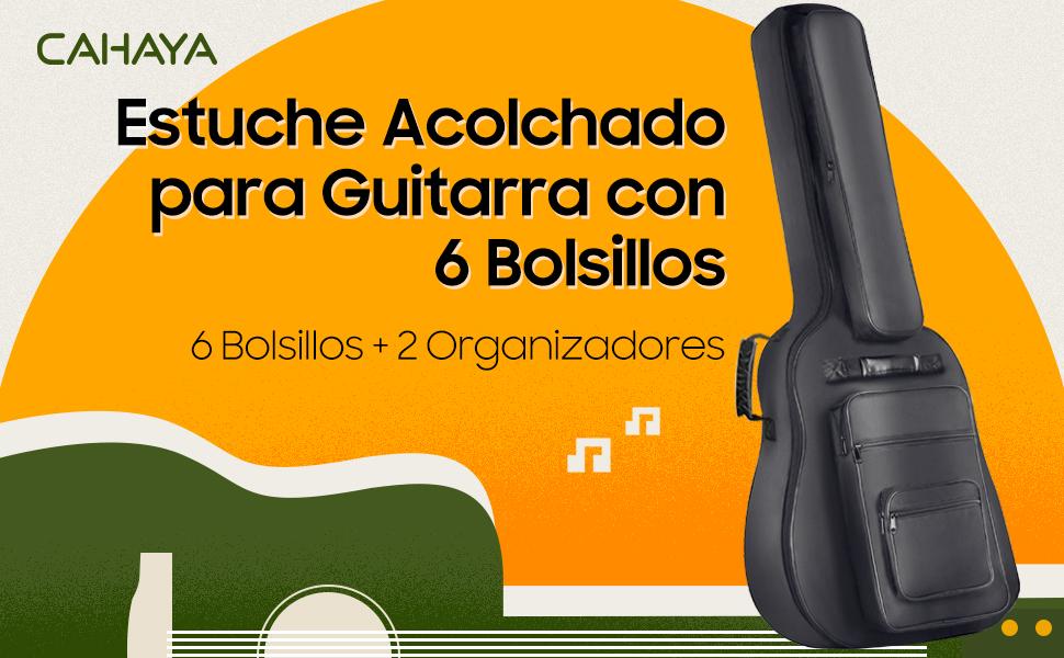 CAHAYA Funda para Guitarra Estuche Guitarra Clasica Acústica ...