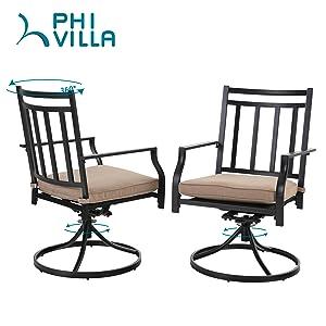 small swivel rocker chair