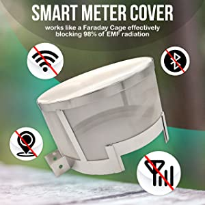 emf protection smart meter cover rf shield