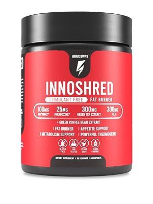 inno shred fat burner weight loss metabolism increase
