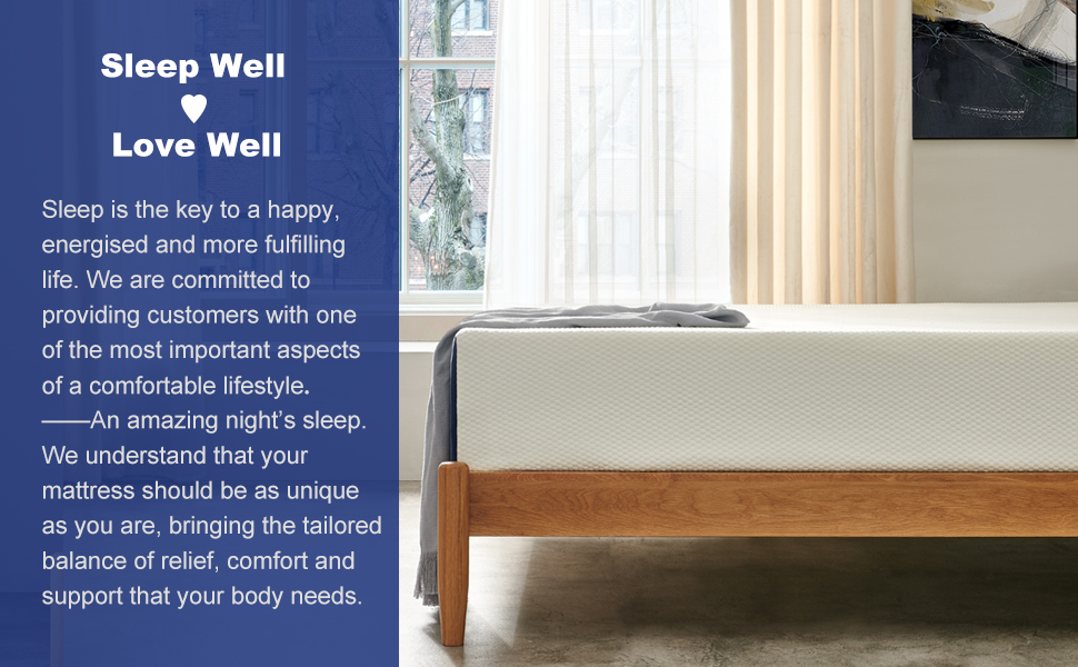 14 inch bed mattress in a box