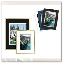 golden state art double mat mix color size assorted colors for frame mat fit
