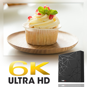 6K android tv box