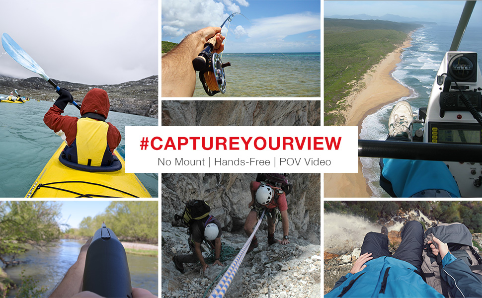 POV photo collage | Capture Point of View Video