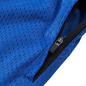 2 zipper phone pockets shorts