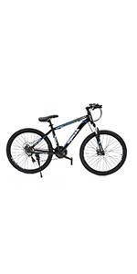 dual disc brake mountain bike for men and women