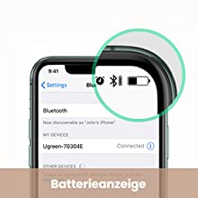 Batterie Anzeige