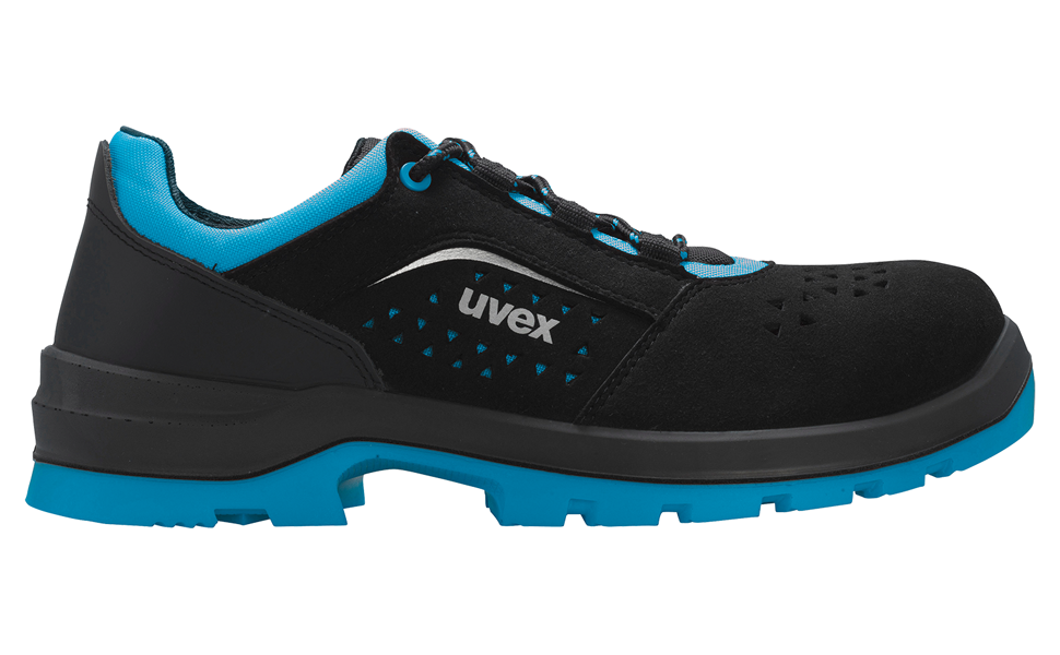 UVEX zapatos de trabajo zapatos de seguridad s1 talla 46 B-Ware nuevo