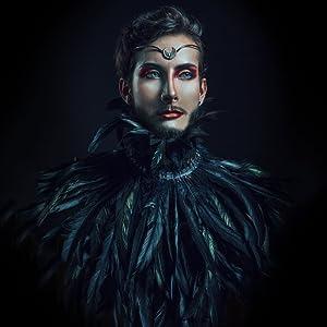 Black Crow shawls