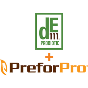 preforpro de111 immune response probiotic logo