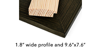 pine wood frame