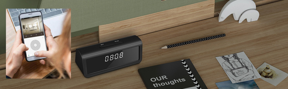clock nanny camera