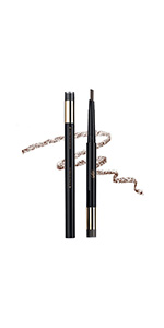 Eyebrow Pencil With Filling Powder