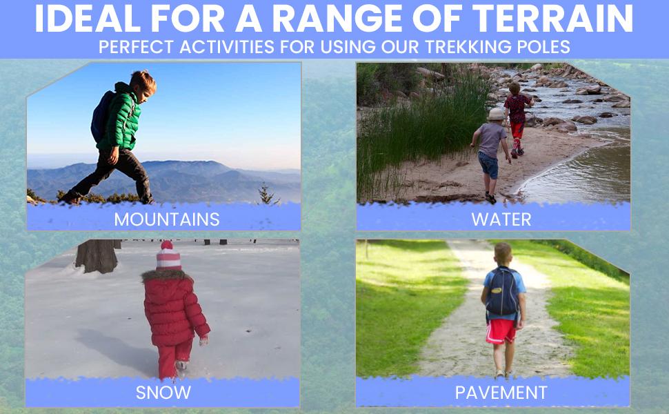 Ideal for all range of terrain