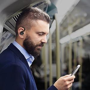 bluetooth headphones in ear