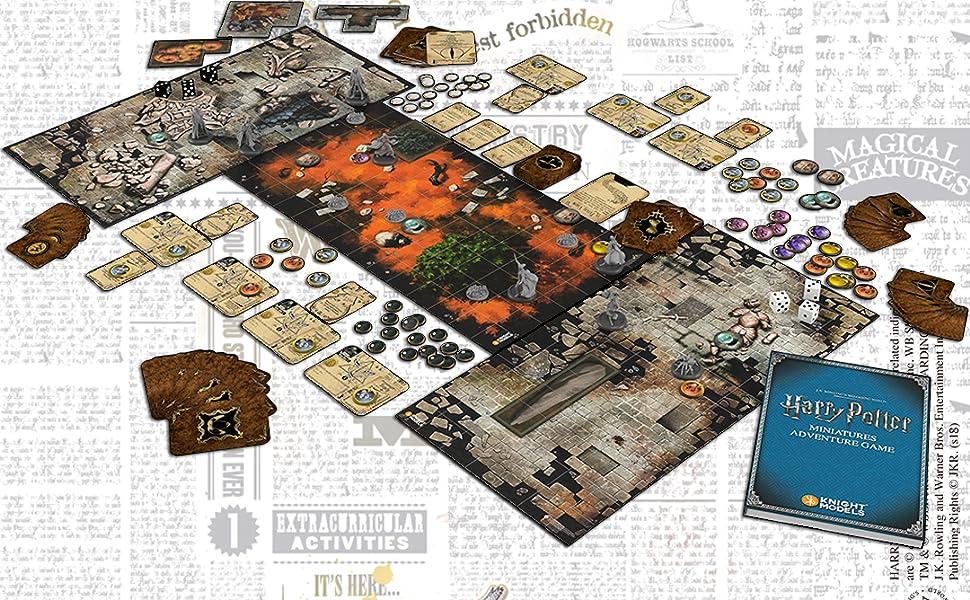 Knight Models Harry Potter Miniatures Adventure Game: Caja Básica ...