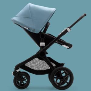 in Schwarz Bugaboo Fox 2 Kinderwagen Zusammenklappbarer Babywagen mit vielf/ältigen F/ächern /& Guckloch im Sonnenverdeck Von der Geburt bis zum Kleinkindalter