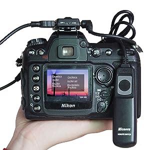 Nikon D7200 GPS Receiver, Micnova GPS-N Plus DSLR Camera GPS Unit
