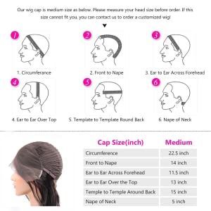 How to measure the head size