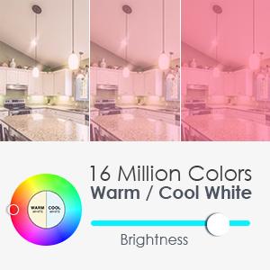 smart color light bulb
