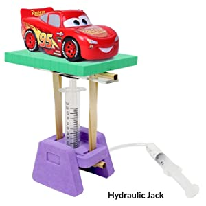 Pascals Law Real Life Application STEM Toys Hydralic Mechanism Construction Toys