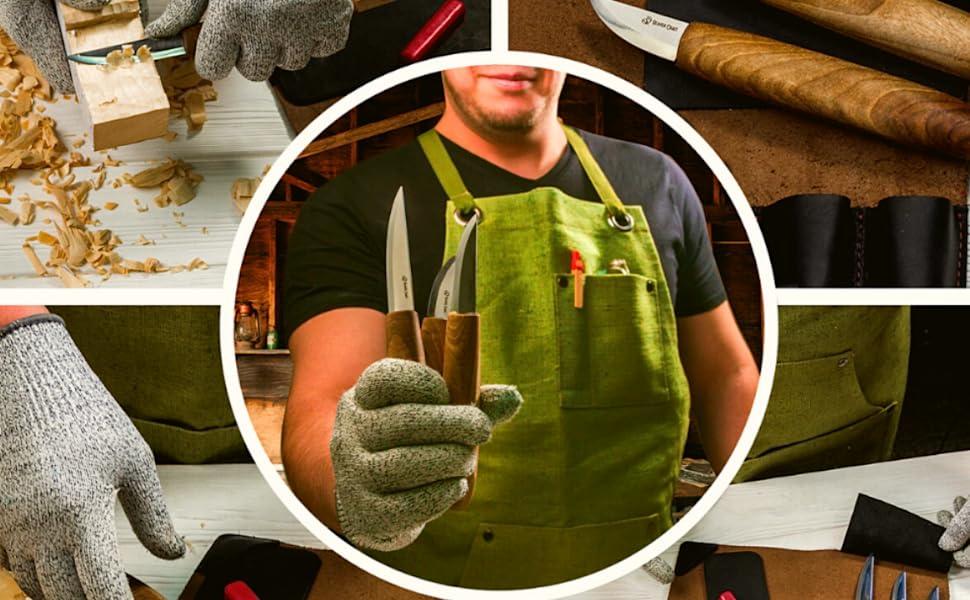 wood carving tools kit