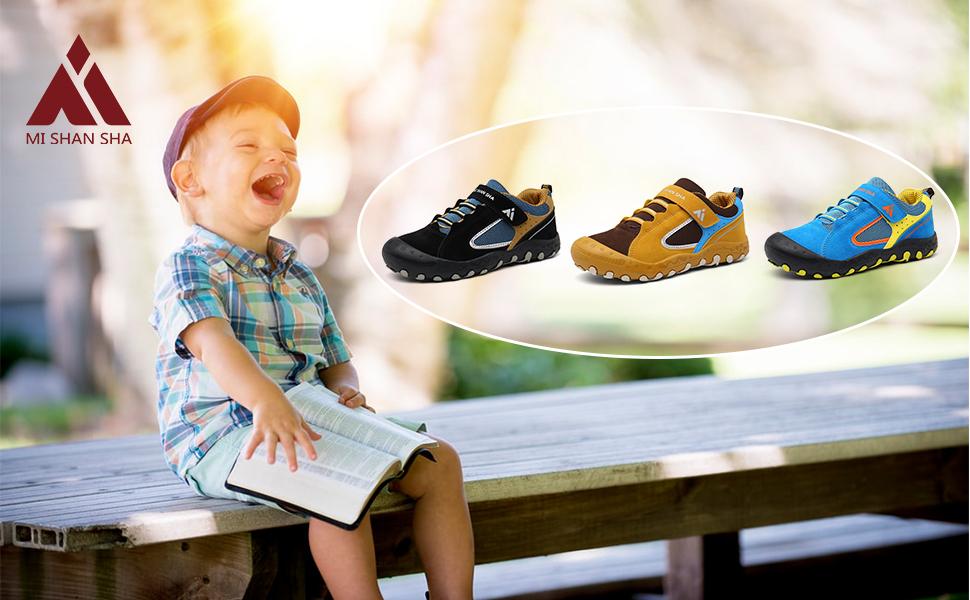 Mishasha Baskets Fille Garçon Respirant Enfant Décontractées Chaussures de Sport Ultra légères Mixte Low Top Sneakers