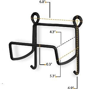 metal wall decor stackable wire rack wire shelving unit towel hook organizador de maquillaje