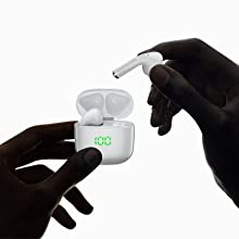 bluetooth earbuds volume control