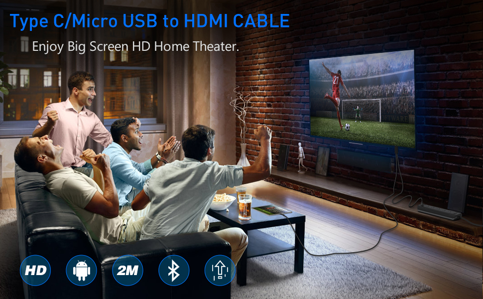 MHL TO HDMI cable