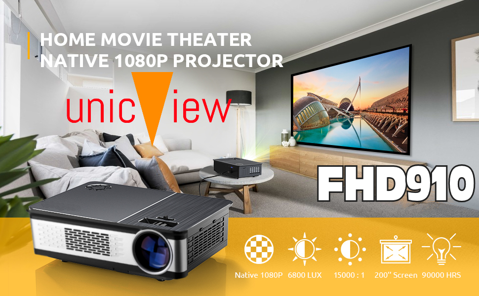 proyectores 4k, proyectores 1080p, proyectores fullhd, proyector para cine en casa, proyector led
