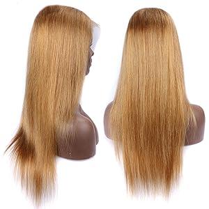 27 honey blonde Wig