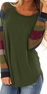 olive green shirt women