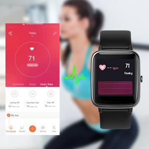 TOOBUR Smartwatch, IP68 Impermeable Reloj Inteligente con ...