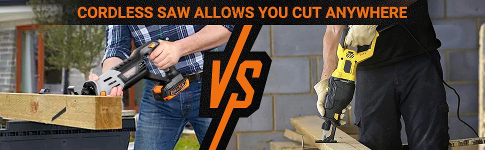 20V Cordless Reciprocating Saw