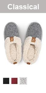 longbay women slip on slipper