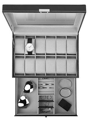 watch box organizer for men