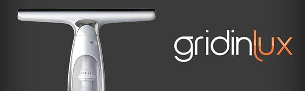 GRIDINLUX. Limpiador de cristales. Limpia-ventanas eléctrico sin ...