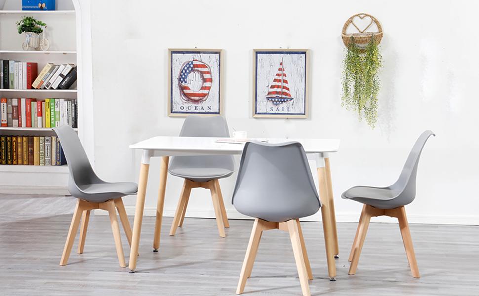 set sillas comedor