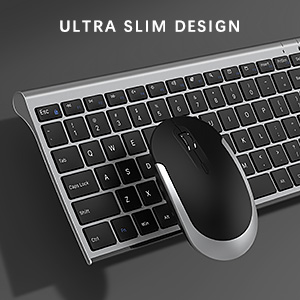 ultra slim rechargeable wireless keyboard mouse combo black silver detail page 925 (6)