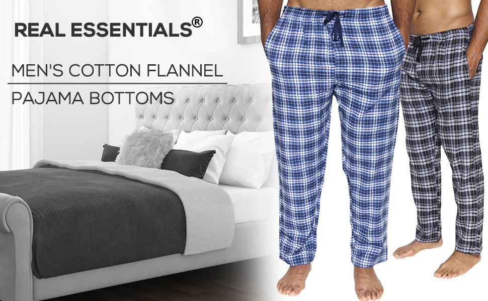 Amazon Com Paquete De 3 Pantalones De Pijama Para Hombre Pantalones De Algodon De Franela Disponibles En Diferentes Colores Y Estampados Y En Tallas S 3xl Clothing