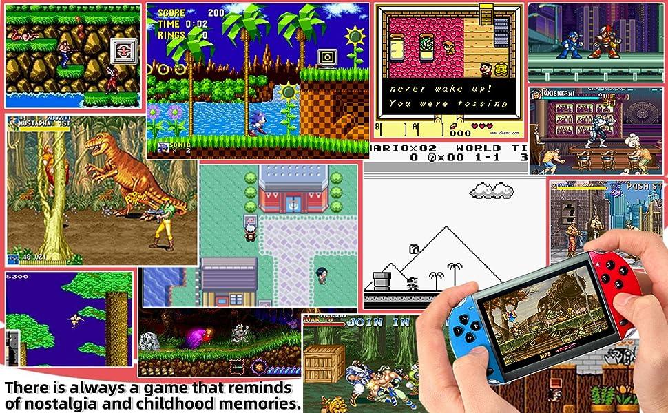 Reminding Retro Game Memories