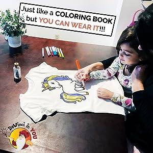 Shirt coloring