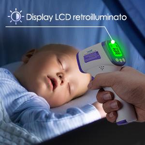 termometro febbre infrarossi