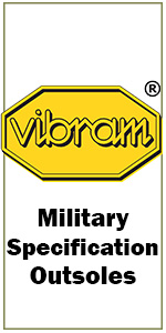 Vibram military specification outsoles