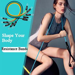 iECO 11 Pcs Resistance bnads