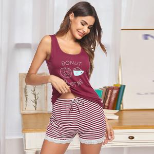 sleeveless pajamas for women